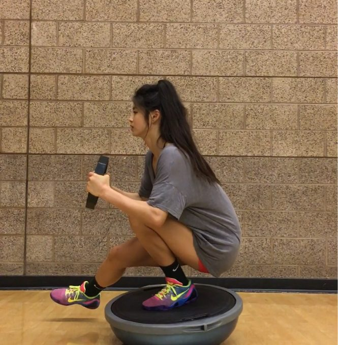 Bosu Ball One Leg Squat: Spread Love, Happiness And Fitness